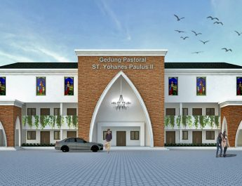 Perkembangan Pembangunan Gedung Pastoral Gereja