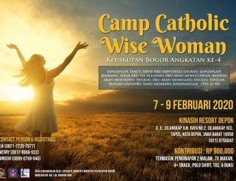 Camp Catholic Wise Woman angkatan 4