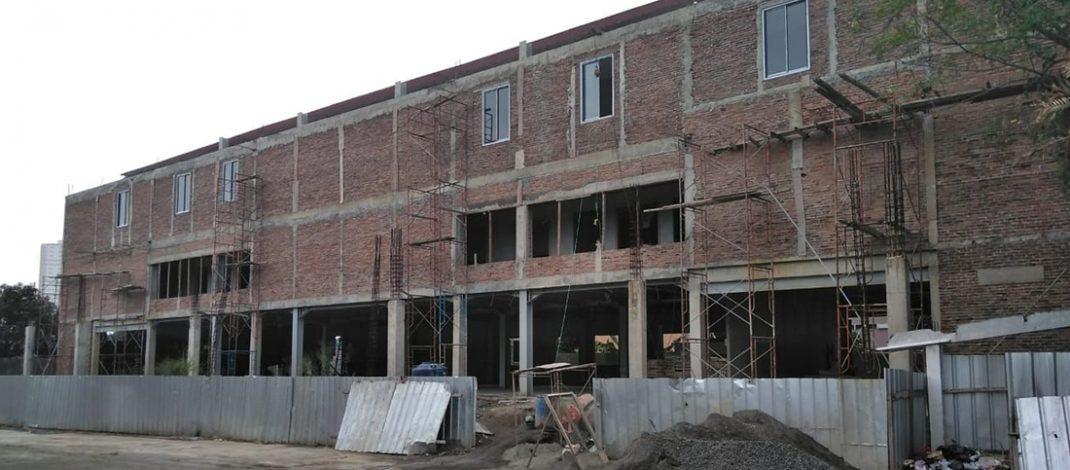 Kemajuan Pembangunan Gedung Pastoral Paroki